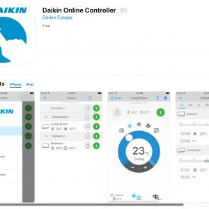 Bộ điều khiển máy lạnh trung tâm Daikin bằng điện thoại
